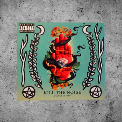 "Kill The Noise ""Symbolic"" Custom Painted OCCULT CLASSIC CD"
