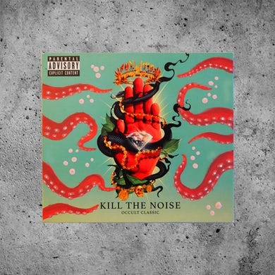"Kill The Noise ""Octopoda"" Custom Painted OCCULT CLASSIC CD"