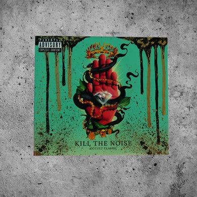 "Kill The Noise ""Chaos"" Custom Painted OCCULT CLASSIC CD"