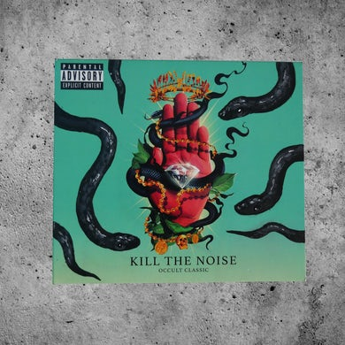 "Kill The Noise ""Omens 2"" Custom Painted OCCULT CLASSIC CD"