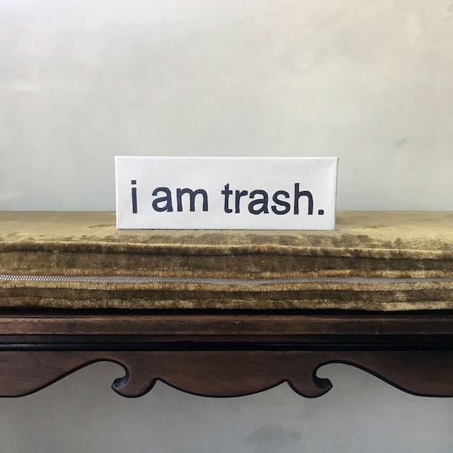 "MIja ""I AM TRASH"" Painting"