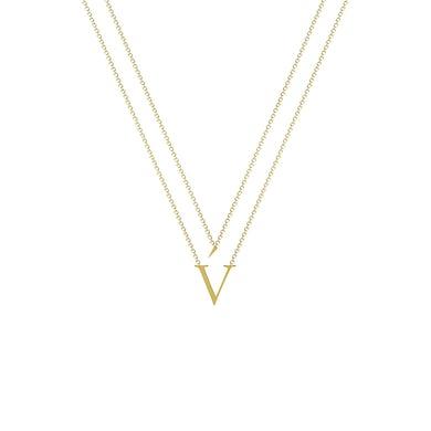 Verite v gold necklace