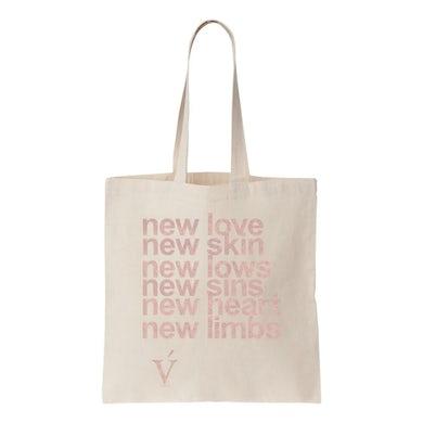 Verite new love new skin tote bag