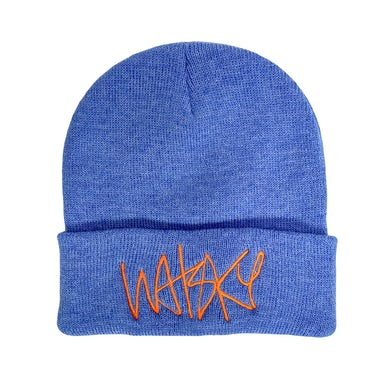 Watsky Logo Blue Beanie