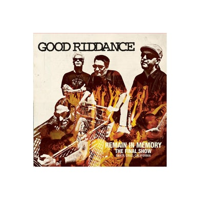 Good Riddance Remain In Memory - The Final Show CD