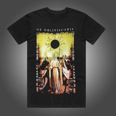 NE OBLIVISCARIS Yellow Jesus T-shirt (Black)