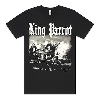 King Parrot Blaze In The Northern Suburbs T-shirt (Black)