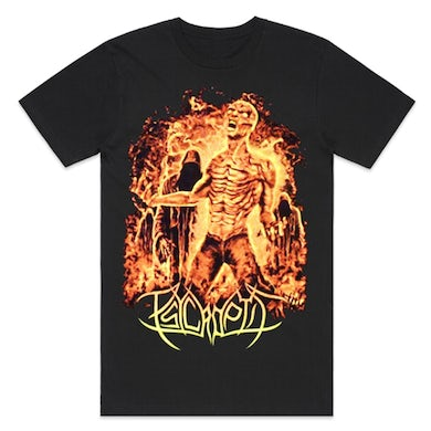 Psycroptic Burning Man T-Shirt (Black)