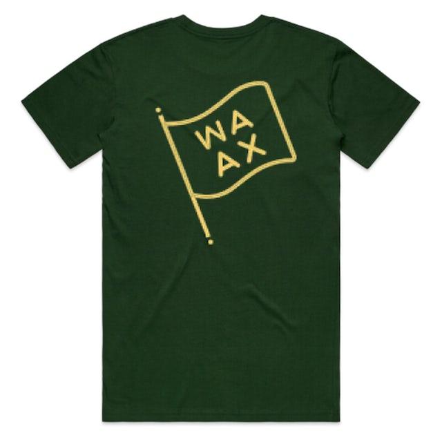 Waax Flag Tee (Forest Green)