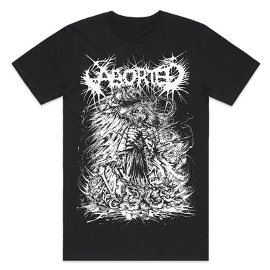 Aborted Exploding Zombie T-Shirt