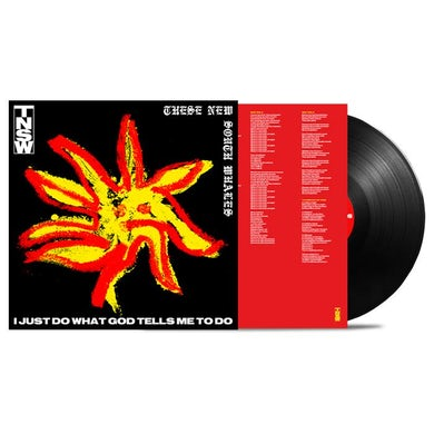 These New South Whales I Just Do What God Tells Me To Do LP (Black) (Vinyl)