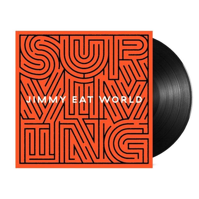 Jimmy Eat World Surviving LP (Black) (Vinyl)