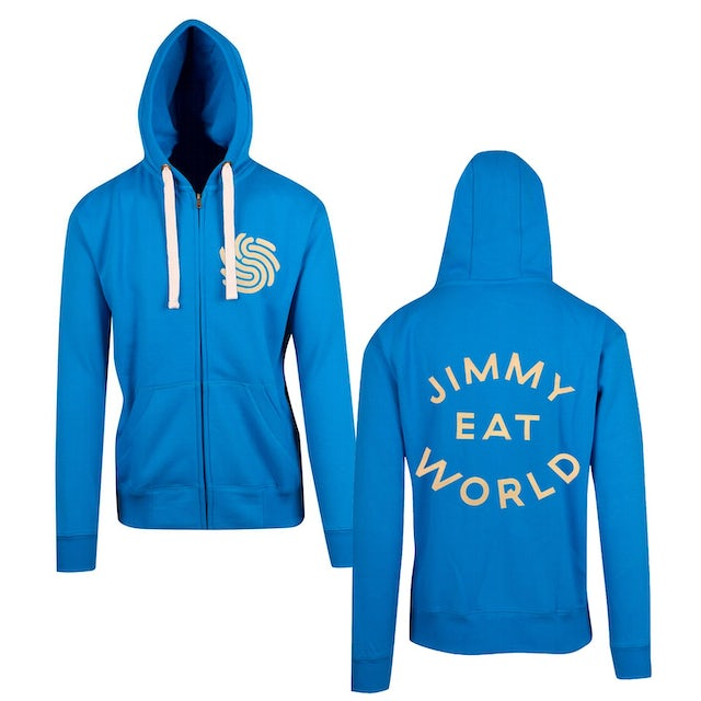 Jimmy Eat World Surviving Zip Hood (Blue)