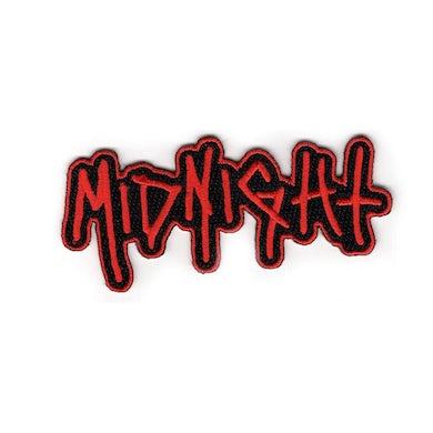 Midnight Logo Die Cut Patch (Red)