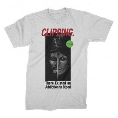 Clipping Blood Couple Tee (White)