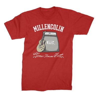 Millencolin Home From Home Tee (Cherry Red)