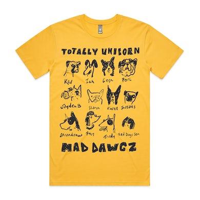 totally unicorn Mad Dawgz Tee (Yellow)