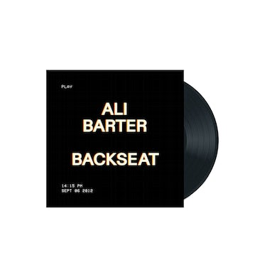 "Ali Barter Backseat / January 7"" Vinyl (Black)"