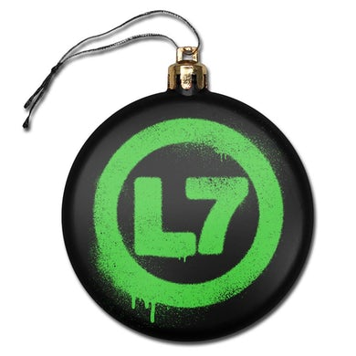 L7 Drip Logo Ornament