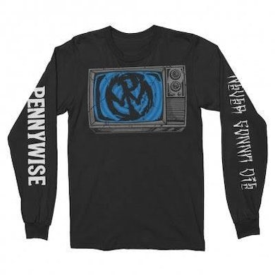 Pennywise Television Longsleeve Tee (Black)