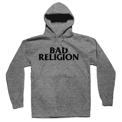 Bad Religion BR Logo Pullover Hoodie (Grey)