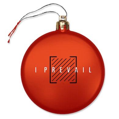 I Prevail Trauma Ornament (Red)