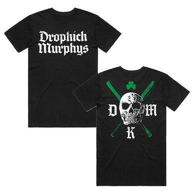 Dropkick Murphys Bats Tee (Black/Green - Australian Exclusive)