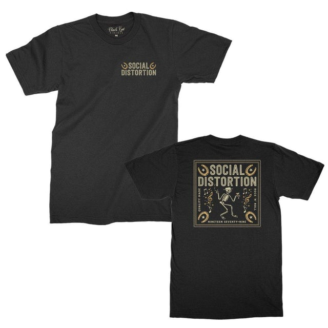 Social Distortion Bandana T-shirt (Black)