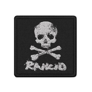 Rancid D-Skull Woven Patch (Black)