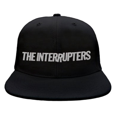 The Interrupters Embroidered Logo Snapback (Black)