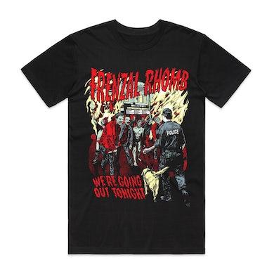 Frenzal Rhomb We're Going Out Tonight T-shirt (Black)