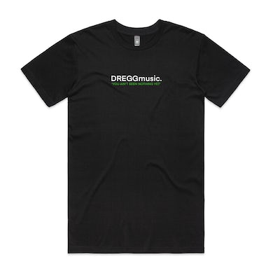 Dregg Nothing Embroidered Tee (Black)