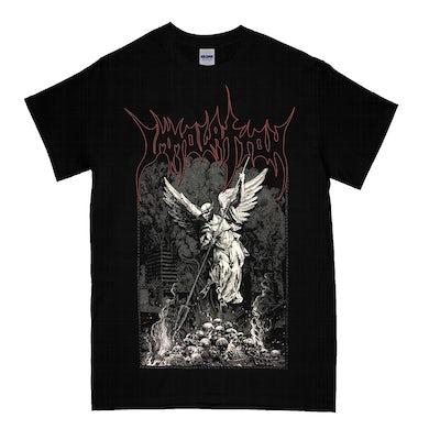 Immolation Angel Skull T-Shirt (Black)