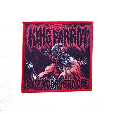 King Parrot Bite Your Head Off Patch