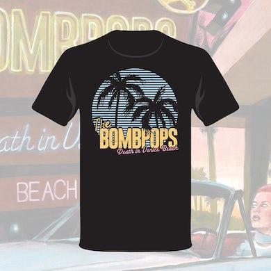 The Bombpops Death in Venice Beach T-Shirt (Black)