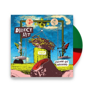 Direct Hit!  Crown of Nothing LP (Transparent Red and Green) (Vinyl)