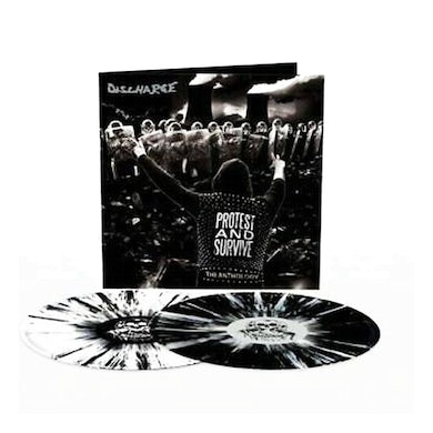 Protest And Survive : The Anthology 2LP (Black/White Splatter) (Vinyl)