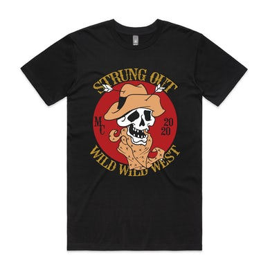 Strung Out Wild West Tee (Black)
