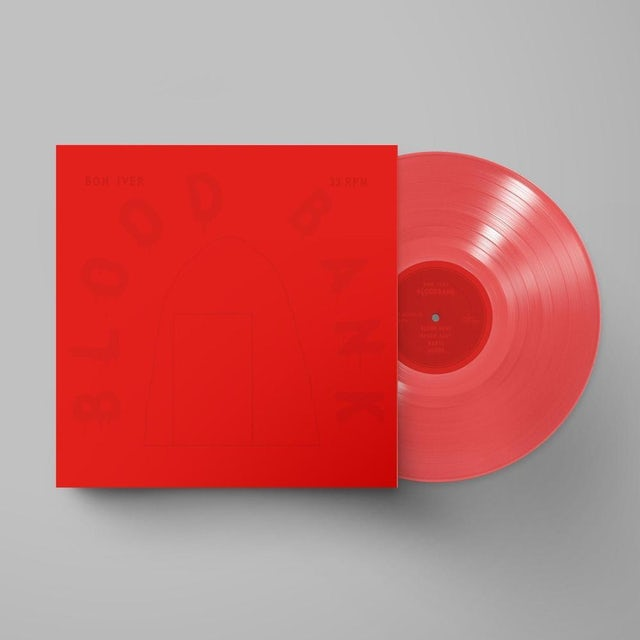 Bon Iver Blood Bank EP (Red Vinyl) 10th Anniversary Edition