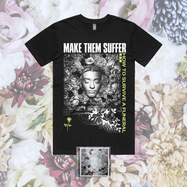 Make Them Suffer How To Survive A Funeral CD + Tee