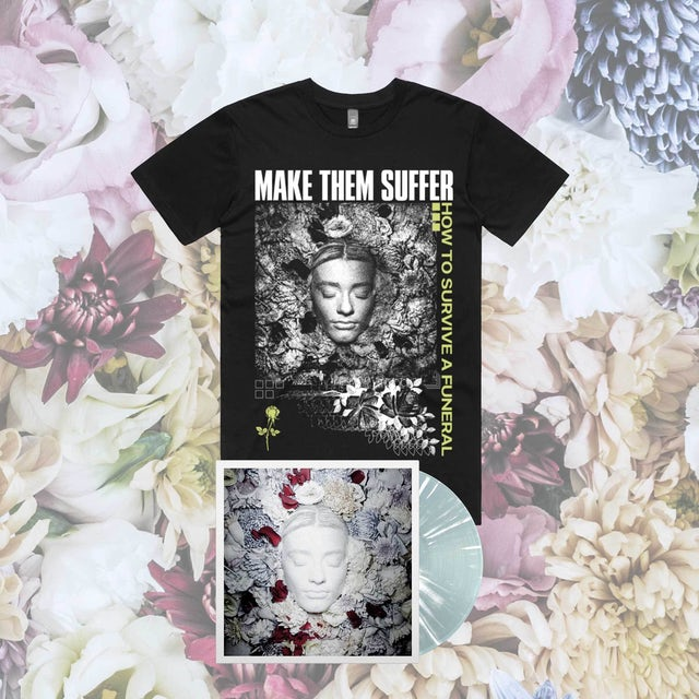 Make Them Suffer How To Survive A Funeral LP + Tee