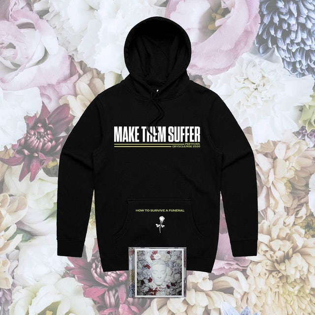 Make Them Suffer How To Survive A Funeral CD + Hoodie