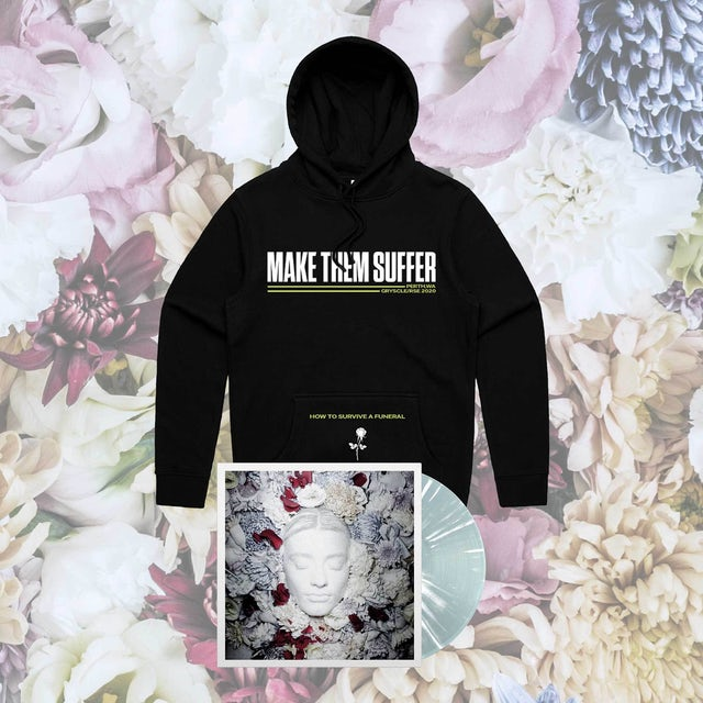 Make Them Suffer How To Survive A Funeral LP + Hoodie