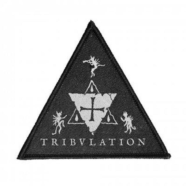 TRIBULATION Triangle Woven Patch