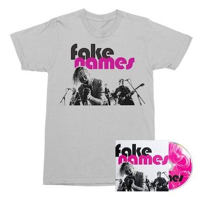 Fake Names CD + Tee