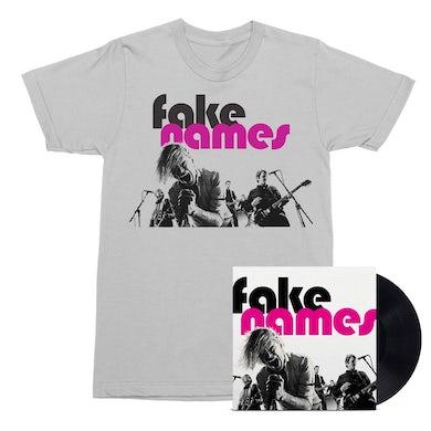 Fake Names LP (Black) + Tee