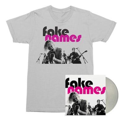 Fake Names LP (Transparent Clear) + Tee