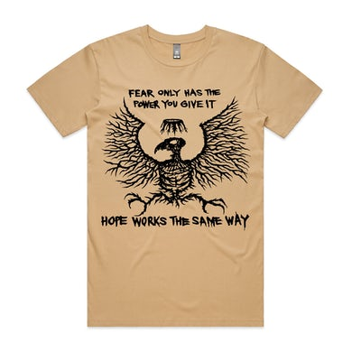 King Parrot Fear Only Tee (Tan)