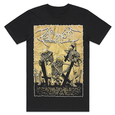 Psycroptic You Belong Here Below T-Shirt (Black)