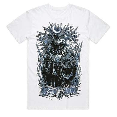 Psycroptic Ice Demon T-Shirt (White)